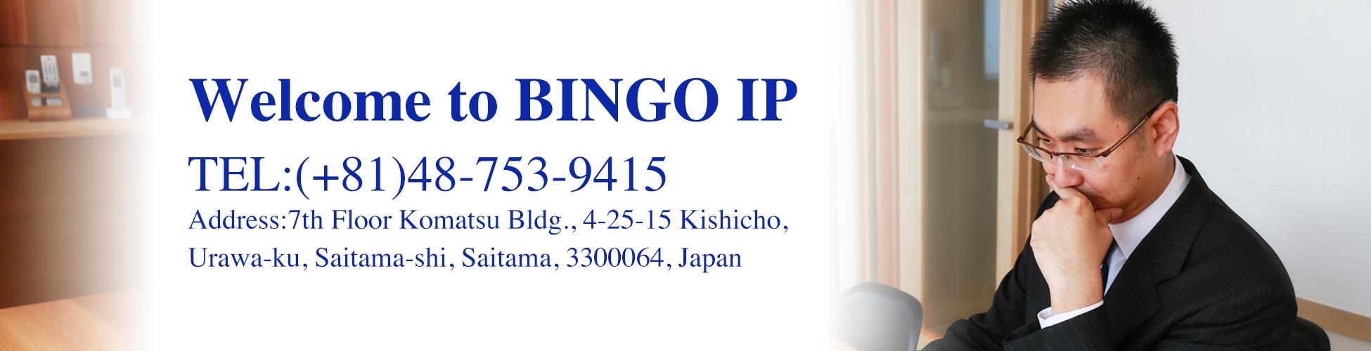 Welcome to BINGO IP